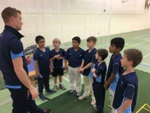 Tom Milnes coaching Complete Cricket