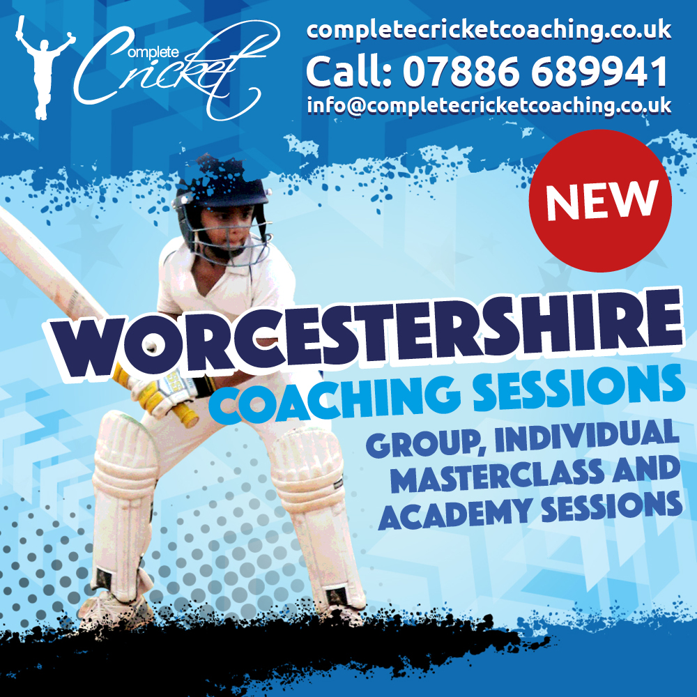 Complete Cricket launch Worcestershire Programmes