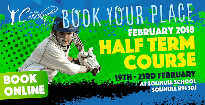 Complete Cricket February Half Term Course 2018