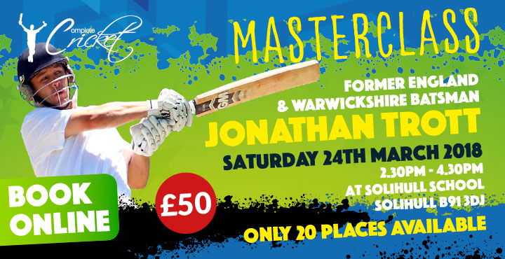 CCC J Trott Masterclass at Solihull School