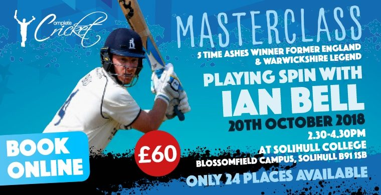 Ian Bell Masterclass October 2018