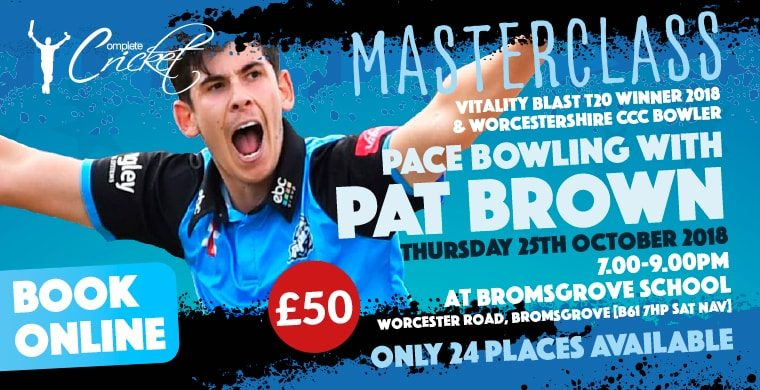 Pat Brown Masterclass – October 2018