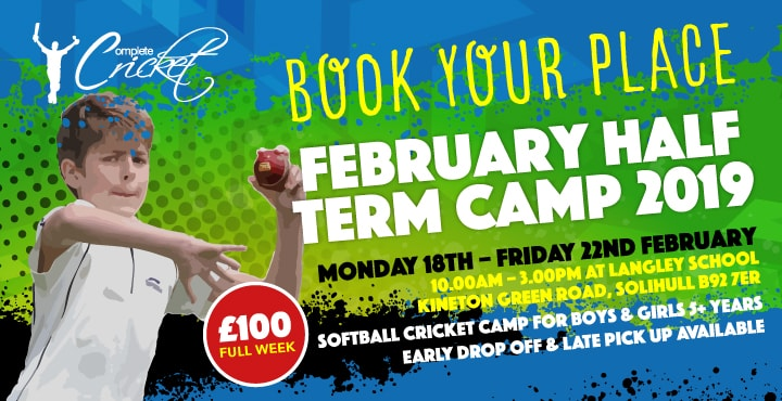 February Half Term Softball Course 2019