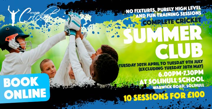 Complete Cricket Summer Club 2019