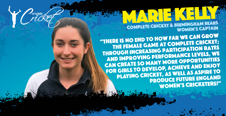 Q&A with the newest member of the Complete Cricket team– Marie Kelly