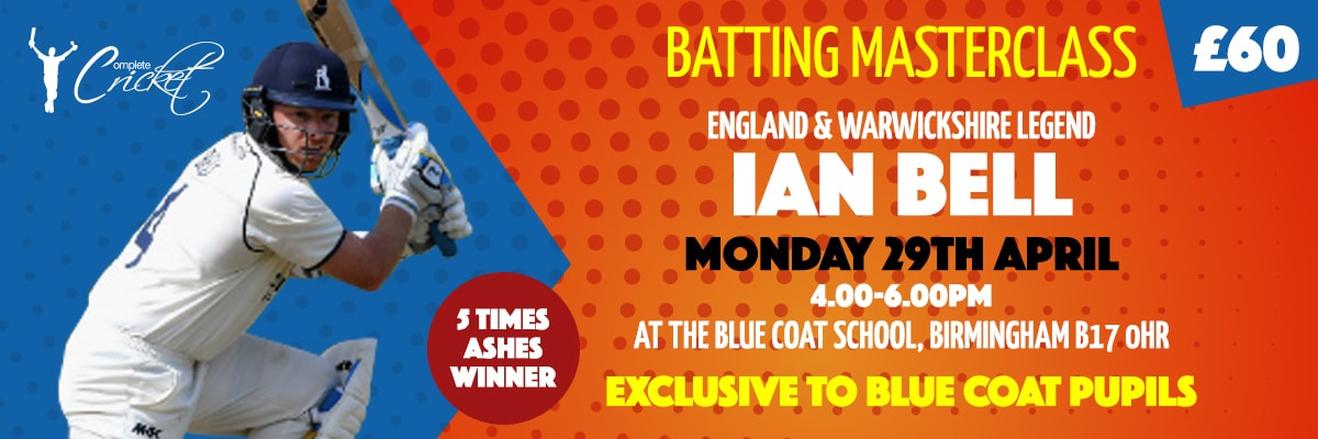 Ian Bell Masterclass April | Complete Cricket