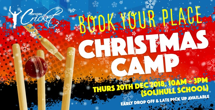 CC Christmas Holiday Camp Day 20th December 2018