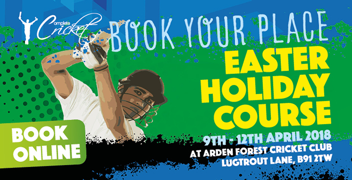 Complete Cricket Easter Holiday Course Lugtrout Lane C.C. 2018