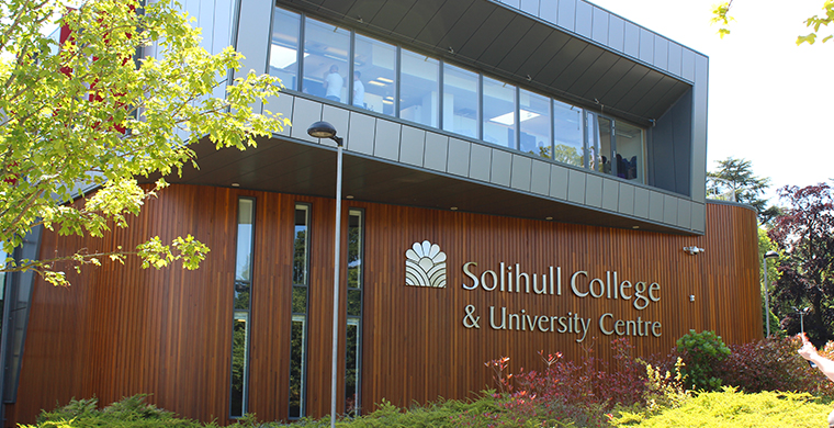 Partnership with Solihull College