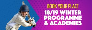 Winter Coaching Programme | Complete Cricket