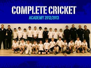 Complete Cricket Academy 2012 - 2013