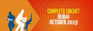 Dubai | October 2019 | Complete Cricket Tours
