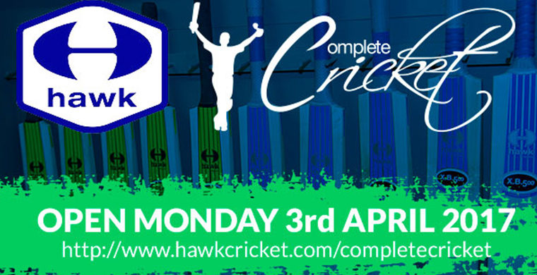 Complete Cricket launch Hawk Partnership