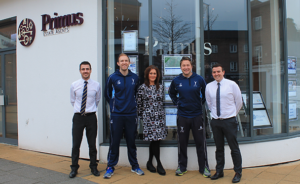 Primus Estate Agents team with Complete Cricket